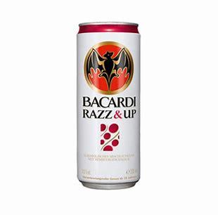 Bacardi Razz & Up blik 25cl