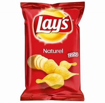 Lay's Naturel Chips 225gr