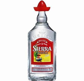 TEQUILA SIERRA SILVER  (bellen Voor Actuele Prijzen)