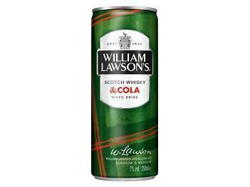 WILLIAM LAWSON'S & COLA