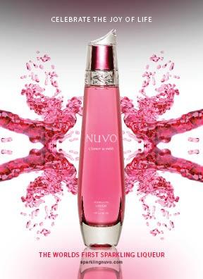 Nuvo Sparkling Vodka Liqueur  (bellen Voor Actuele Prijzen)