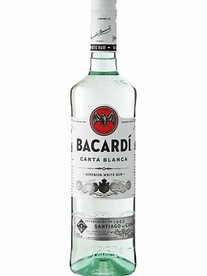Bacardi Carta Blanca  (bellen Voor Actuele Prijzen)